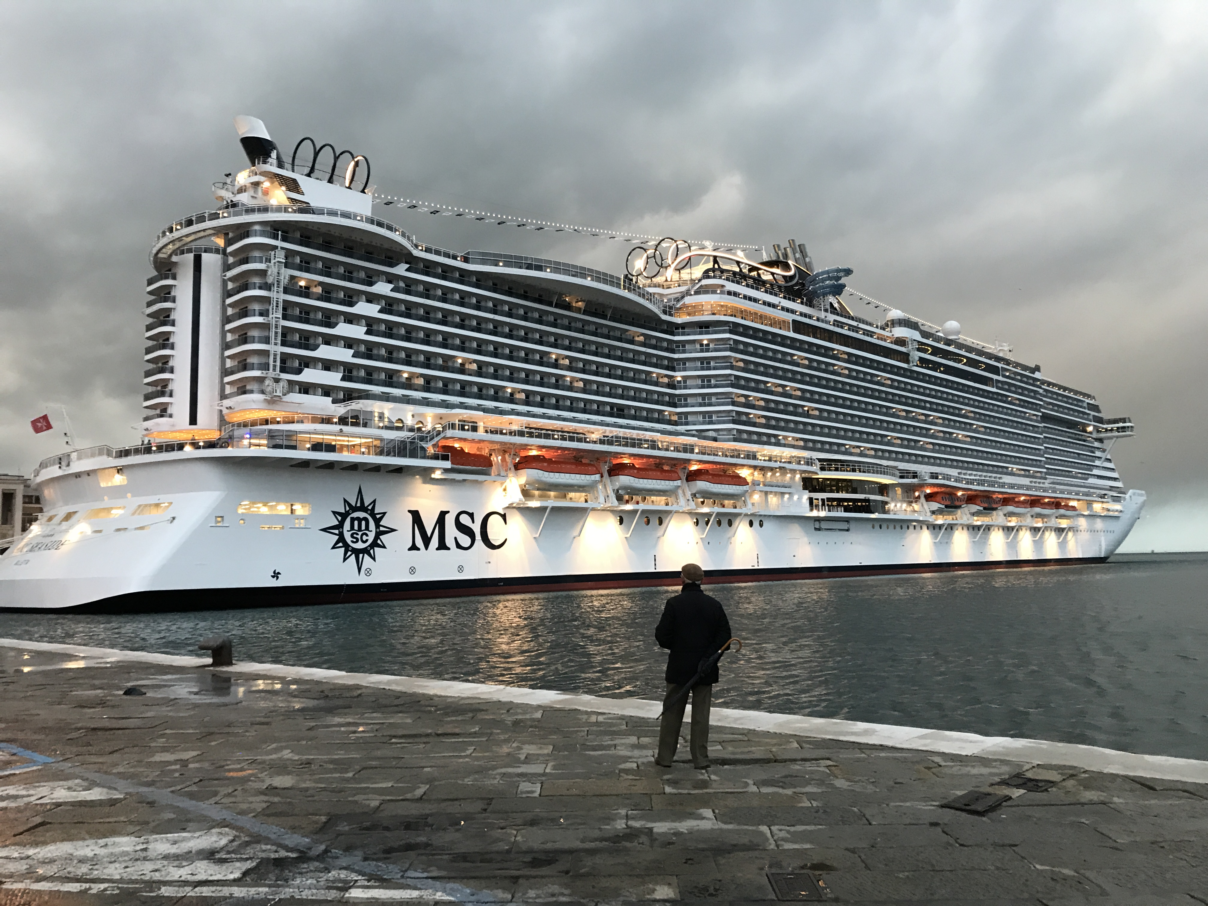 A bordo della nuova MSC Seaside