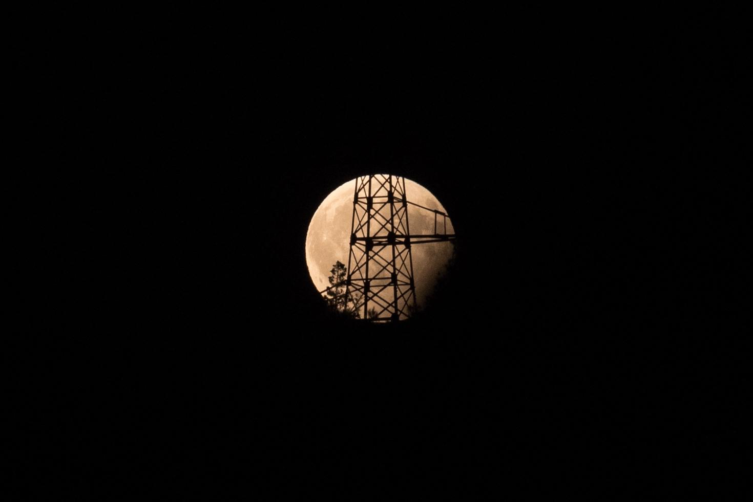 Eclisse di Luna (ma non in Italia)