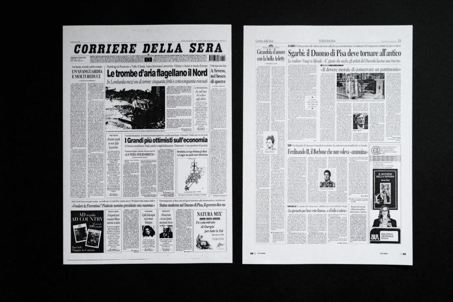 Corriere della Sera, luglio 2001