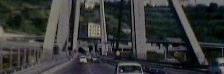 Genova, Ponte Morandi 1969